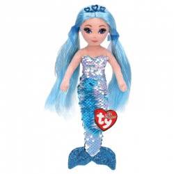 ty Flippables Indigo Sequins Mermaid Soft Toy Blue 1607-02302 008421023028