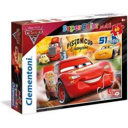 Clementoni Cars 3 Puzzle Maxi 60 Pieces Racing Hero 1200-26424 8005125264247