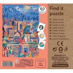 Clementoni Find It Sweetest City Eco Παζλ S.C. Η Πιο Γλυκιά Πόλη 60 Τεμαχίων 1265-16222 8005125162222