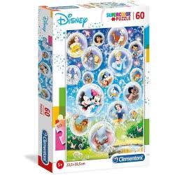 Clementoni Supercolor Puzzle Disney Classic 60 Pieces 1200-26049 8005125260492