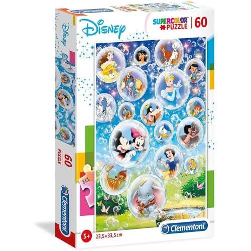 Clementoni Supercolor Παζλ Disney Classic 60 Κομμάτια 1200-26049 8005125260492