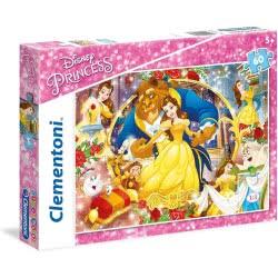 Clementoni Supercolor Παζλ Disney Princess 60 Pieces 1200-26966 8005125269662
