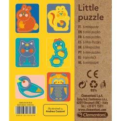 Clementoni Little Little Animals Eco Παζλ Ζωάκια 6 Mini Τεμαχίων 1265-16161 8005125161614
