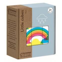 Clementoni Little Cubes Eco Παζλ Κύβοι Καιρός 6 Τεμαχίων 1265-16225 8005125162253