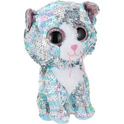 ty Whimsy Blue Cat Flippable 15 Cm 1607-36674 008421366743
