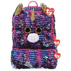 ty Fashion Plush Sequin Square Backpack Rosette 1607-95058 008421950584