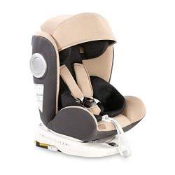 Lorelli Child Seat Lusso, Sps, Isofix, Group 0+/1/2/3, (0-36 Kg), Seat Rotatable, Colour: Beige Grey 1007111 2017 3800151961765