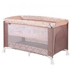 Lorelli Verona 2 Tier Folding Umbrella Bed - Brown And Beige Lines 1008026 1940 3800151962847