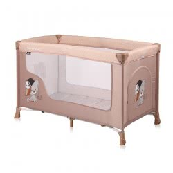 Lorelli Baby Travel Cot Remo, Playpen, Baby Cot With Wheels, Carrying Bag, Colour:Beige 1008001 1935 3800151962397