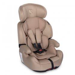 Lorelli Car Seat Iris Isofix Group 1/2/3 (9-36 Kg) 1-12 Years - Beige 1007124 1905 3800151974802