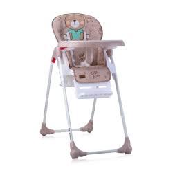 Lorelli Feeding Chair Oliver Beige Bear 1010025 2024 3800151903826