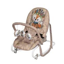 Lorelli Baby Rocker, Baby Rocker TOP Relax, Adjustable, Chair, Carrying Handle Beige Fox 1011002 2042 3800151963738