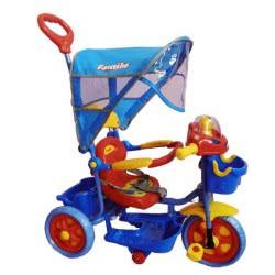 Family KBC ΤΡΙΚΥΚΛΟ ΚΟΚΚΙΝΟ-ΜΠΛΕ ΠΟΔΗΛΑΤΑΚΙ 9686B-RED-BLUE 5221275025177