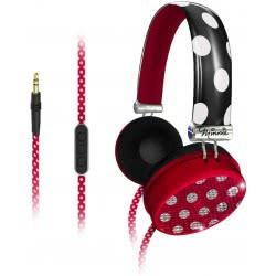 eKids Minnie Mouse Fashion Over-The-Ear Ακουστικά Με Ρύθμιση Έντασης - Κόκκινο MF-M48 092298914732