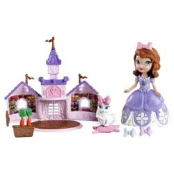 Mattel Πριγκίπισσα Σοφία Και Καστράκι (2Σχέδια) BDK52 746775304201