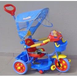 Family KBC Τρίκυκλο Κόκκινο - Μπλε Ποδηλατάκι 9686B-RED-BLUE 5221275025177