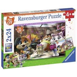 Ravensburger Παζλ 2X24 Τεμ. 44 Cats 05012 4005556050123