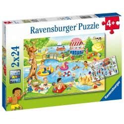 Ravensburger Παζλ 2x24 Τεμ. Στη Λίμνη 05057 4005556050574