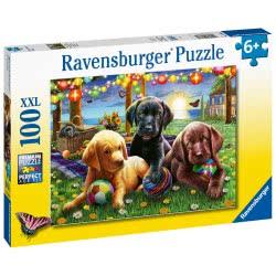 Ravensburger Puppy Picnic XXL 100Pc Jigsaw Puzzle 12886 4005556128860