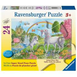 Ravensburger Floor Puzzle 24 Pieces Unicorns 03043 4005556030439