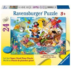Ravensburger Floor Puzzle 24 Pieces Pirates 03042 4005556030422