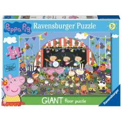 Ravensburger Peppa Pig Family Celebrations, 24Pc Giant Floor Jigsaw Puzzle, 03022 4005556030224