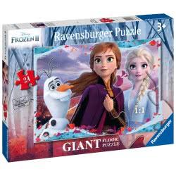Ravensburger Floor Puzzle 24 Pieces Disney Frozen ΙΙ 030361 4005556030361