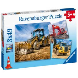 Ravensburger Construction Vehicles In Use 05032 4005556050321