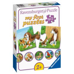 Ravensburger My First Puzzle 9 X 2 Pieces Farm Animals 05072 4005556050727