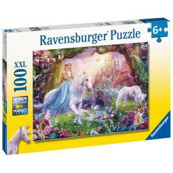 Ravensburger Magical Unicorn, Be Happy XXL 100Pc Jigsaw Puzzle 12887 4005556128877