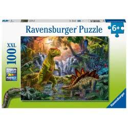 Ravensburger Puzzle 100Xxl Pieces Dinosaurs 12888 4005556128884