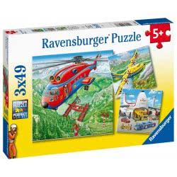 Ravensburger Παζλ 3X49 Τεμ. Αεροπλάνα 05033 4005556050338