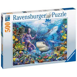 Ravensburger King Of The Sea 500Pc Jigsaw Puzzle 15039 4005556150397
