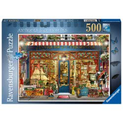 Ravensburger Antiques And Curiosities 500Pc Jigsaw Puzzle 16407 4005556164073