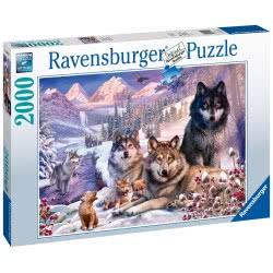 Ravensburger Παζλ 2000 Τεμ. Λύκοι στο Χιόνι 16012 4005556160129