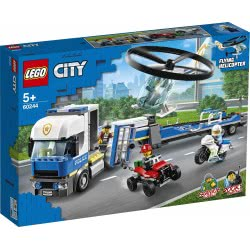 LEGO City Police Helicopter Transport 60244 5702016617788