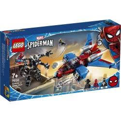 LEGO Marvel Spider-Man Spider-Jet Vs. Venom Mech 76150 5702016619300