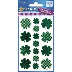 ZDesign Ζ Design Αυτοκολλητα Premium Creative Τριφύλια 57873 4004182578735