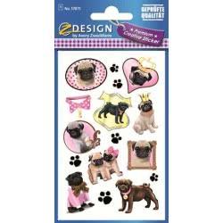 ZDesign Ζ Design Αυτοκολλητα Premium Creative Σκυλακία 57875 4004182578759