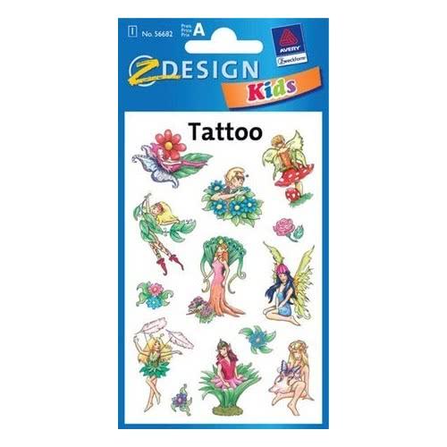 ZDesign Ζ Design Kids Τattoo Νεράιδες 56682 4004182566824