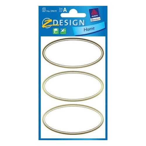ZDesign Αυτοκόλλητα Ζ Design Home Eτικέτες 59419 4004182594193