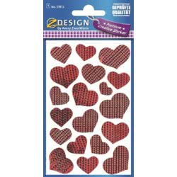 ZDesign Αυτοκόλλητα Ζ Design Creative Premium Καρδούλες 57872 4004182578728