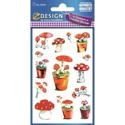 ZDesign Αυτοκόλλητα Ζ Design Creative Μανιτάρια 57028 4004182570289