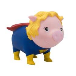 Lilalu Biggys Piggy Bank Superheroine