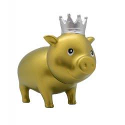 Lilalu Biggys Piggy Bank Goldy