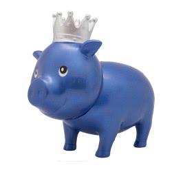Lilalu Biggys Piggy Bank Blue Diamond