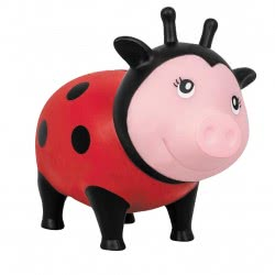 Lilalu Biggys Ladybug Piggy Bank