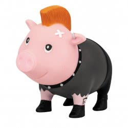 Lilalu Biggys Punk Male Piggy Bank