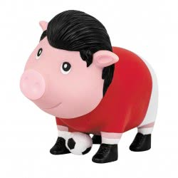 Lilalu Biggys Soccer Player Piggy Bank