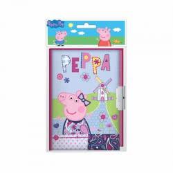 Diakakis imports Ημερολόγιο Με Κλειδαριά Peppa Pig 482325 5205698224942